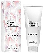 Düfte, Parfümerie und Kosmetik Replay Stone Supernova For Her Body Shampoo - Duschgel