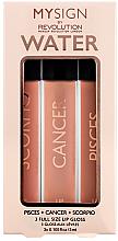 Düfte, Parfümerie und Kosmetik Lipgloss-Set - Makeup Revolution My Sign Lip Gloss Collection Air 3 ml