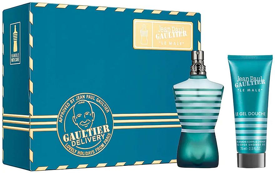 Jean Paul Gaultier Le Male - Duftset (Eau de Toilette 75ml + Duschgel 75ml)