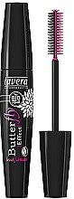 Düfte, Parfümerie und Kosmetik Tiefschwarze Wimperntusche mit Schmetterlingsbürste - Lavera Butterfly Effect Mascara