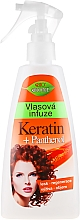 Düfte, Parfümerie und Kosmetik Haarspray mit Panthenol und Keratin - Bione Cosmetics Keratin + Panthenol Hair Infusion