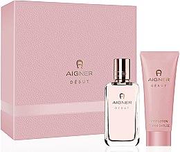 Düfte, Parfümerie und Kosmetik Aigner Debut - Duftset (Eau de Parfum 50ml + Körperlotion 100ml)