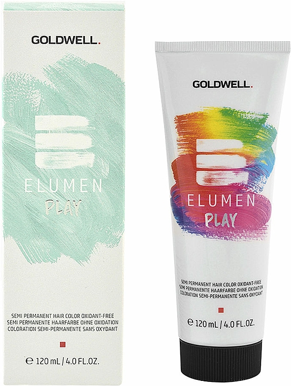 Permanente Haarfarbe - Goldwell Elumen Play Semi-Permanent Hair Color Oxydant-Free