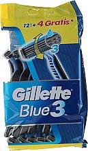 Düfte, Parfümerie und Kosmetik Einwegrasierer-Set 12+4 St. - Gillette Blue 3