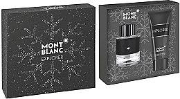Düfte, Parfümerie und Kosmetik Montblanc Explorer - Duftset (Eau de Parfum 60ml + Duschgel 100ml)