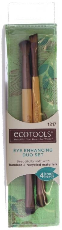 Make-up Pinsel-Set 2 St. - EcoTools Eye Enhancing Eyeshadow Brush Duo — Bild N1