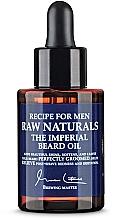 Düfte, Parfümerie und Kosmetik Erweichendes Bartöl - Recipe For Men RAW Naturals The Imperial Beard Oil