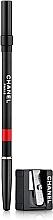 Düfte, Parfümerie und Kosmetik Lippenkonturenstift mit Pinselapplikator - Chanel Le Crayon Levres