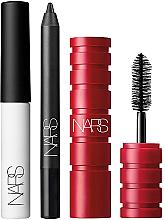 Düfte, Parfümerie und Kosmetik Augenset (Mascara 2.5g + Augen-Primer 2.8g + Eyeliner 0.7g) - Nars Mini Eye Trio