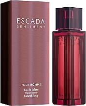 Düfte, Parfümerie und Kosmetik Escada Sentiment Pour Homme - Eau de Toilette