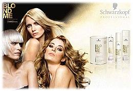 Blond Weißkaschierungscreme - Schwarzkopf Professional BlondMe White Blending — Bild N5