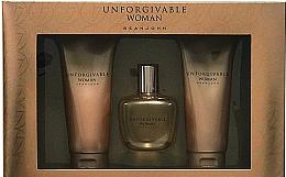 Düfte, Parfümerie und Kosmetik Sean John Unforgivable Woman - Duftset (Eau de Parfum 75ml + Duschgel 100ml + Körperlotion 100ml)