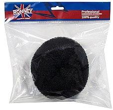 Düfte, Parfümerie und Kosmetik Professioneller Haar Donut, 15x6,5 cm, schwarz - Ronney Professional Hair Bun 055