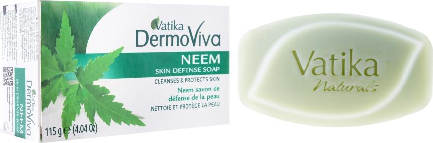 Antibakterielle Seife mit Neem - Dabur Vatika Neem Soap — Bild N1