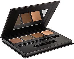 Düfte, Parfümerie und Kosmetik Augenbrauenpalette - Bellapierre Cosmetics Brow Palette