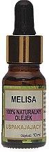 Düfte, Parfümerie und Kosmetik 100% Natürliches beruhigendes Zitronenmelissenöl - Biomika Melisa Oil