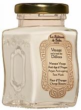Düfte, Parfümerie und Kosmetik Anti-Aging Gesichtsmaske mit Argan und Orangenblüte - La Sultane De Saba Bio Argan & Orange Blossom Argan Anti-Ageing Face Mask Orange Blossom