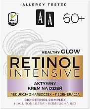 Aktiv glättende und feuchtigkeitsspendende Anti-Falten Tagescreme mit Bio Retinolkomplex für reife Gesichtshaut 60+ - AA Retinol Intensive 60+ Cream — Bild N3
