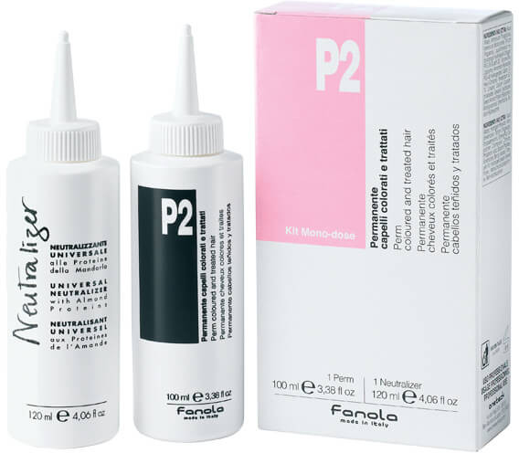 Dauerwellen-Set für gefärbtes Haar - Fanola P2 Perm Kit for Coloured and Treated Hair — Bild N1