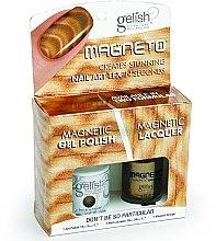 Düfte, Parfümerie und Kosmetik Nagellackset - Gelish Dont Be So Particular Magneto Combo Kit (nail/15ml + nail/10ml)