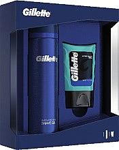 Düfte, Parfümerie und Kosmetik Gesichtspflegeset - Gillette (After Shave Balsam 75ml + Duschgel 200ml)