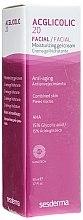 Düfte, Parfümerie und Kosmetik Anti-Aging Gesichtscreme-Gel für Mischhaut - SesDerma Laboratories 20 Moisturizing Gel
