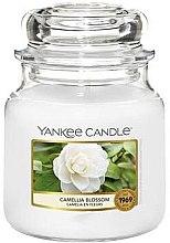 Düfte, Parfümerie und Kosmetik Duftkerze im Glas Camellia Blossom - Yankee Candle Camellia Blossom