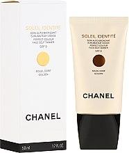 Düfte, Parfümerie und Kosmetik Pflegender Selbstbräuner für das Gesicht SPF 8 - Chanel Soleil Identite SPF 8 Dore Golden