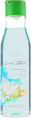 Duschgel Kokoswasser und Melone - Oriflame Love Nature Coconut Water&Melon Shower Gel — Bild N1