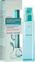 Feuchtigkeitsspendendes Aloe-Wasser für normale bis trockene Haut - L'Oreal Paris Hydra Genius Aloe Water — Bild N1