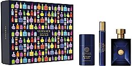 Düfte, Parfümerie und Kosmetik Versace Dylan Blue Pour Homme - Duftset (Eau de Toilette 100ml + Eau de Toilette Mini 10ml + Deostick 75ml)