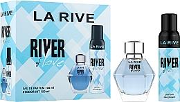 Düfte, Parfümerie und Kosmetik La Rive River Of Love - Duftset (Eau de Parfum 100ml + Deospray 150ml)