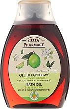 Düfte, Parfümerie und Kosmetik Badeöl mit Bergamotte und Limette - Green Pharmacy