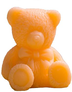Handgemachte Glycerinseife Teddybär mit Grapefruit Duft - LaQ Happy Soaps Natural Soap — Bild N1