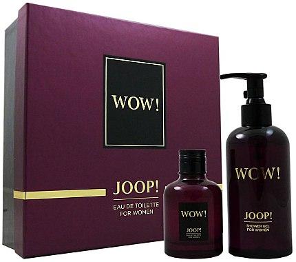 Joop! Wow! For Women Gift Set - Duftset (Eau de Toilette 60ml + Duschgel 250ml) — Bild N1