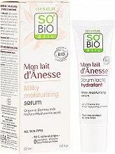 Düfte, Parfümerie und Kosmetik Intensives feuchtigkeitsspendendes Serum mit Eselsmilch - So'Bio Etic Deep Moisturizing Serum