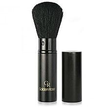 Düfte, Parfümerie und Kosmetik Puderpinsel - Golden Rose Retractable Powder Brush