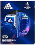 Düfte, Parfümerie und Kosmetik Adidas UEFA Champions League Victory Edition - Duftset (Deodorant-Spray/75ml+Duschgel/250ml)