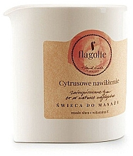 Düfte, Parfümerie und Kosmetik Massagekerze Citrus Hydration - Flagolie Citrus Hydration Massage Candle