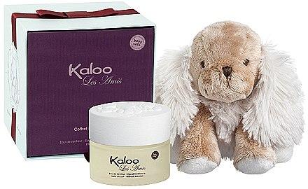 Kaloo Kaloo Les Amis - Kosmetikset (Eau de Senteur/100ml + Hund Kuscheltier) — Bild N1