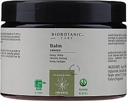 Düfte, Parfümerie und Kosmetik Haarspülung mit Hanfsamenöl - BioBotanic Silk Wave Hemp Balm