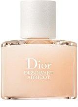 Düfte, Parfümerie und Kosmetik Nagellackentferner - Dior Dissolvant Abricot Gentle Polish Remover