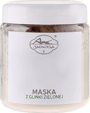 Gesichtsmaske mit grünem Ton - Jadwiga Face Mask — Bild N3