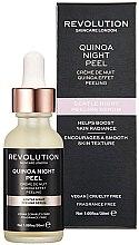Düfte, Parfümerie und Kosmetik Gesichtspeeling-Serum für die Nacht mit Quinoa - Makeup Revolution Quinoa Night Peel