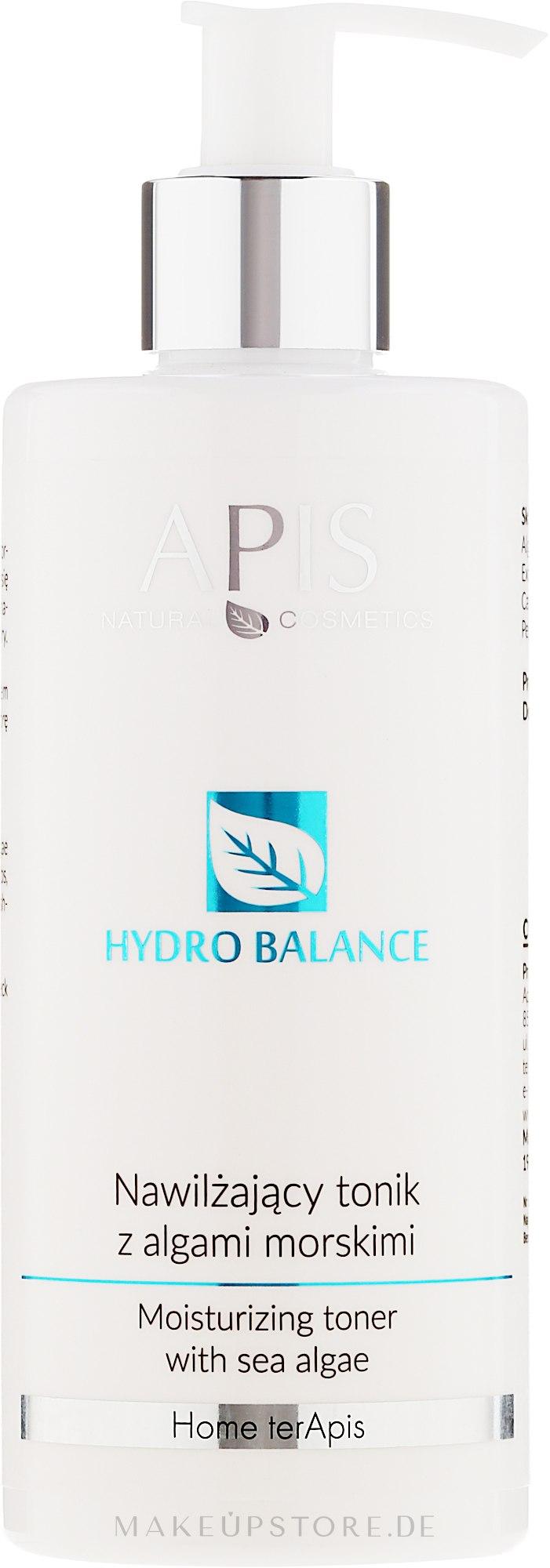 Erfrischendes Gesichtstonikum für normale und Mischhaut - APIS Professional Hydro Balance Moisturizing Toner — Bild 300 ml