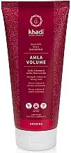 Düfte, Parfümerie und Kosmetik Shampoo für mehr Kraft, Volumen und starke Haarwurzeln mit Amla - Khadi Shampoo Amla Volume