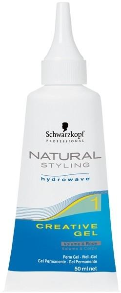 Professionelles Stylinggel für lockiges Haar - Schwarzkopf Professional Natural Styling Creative Gel №1 — Bild N2