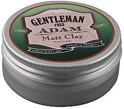 Düfte, Parfümerie und Kosmetik Wachs mit Tonerde und Matteeffekt - Gentleman Adam Matt Clay