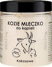 Düfte, Parfümerie und Kosmetik Natürliches Ziegenmilchbad Coconut - E-Fiore Coconut Bath Milk