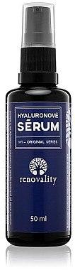 Gesichtsserum mit Hyaluronsäure für alle Hauttypen - Renovality Original Series Hyaluron Serum — Bild N1